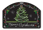 Blackboard Christmas Yard DeSigns Magnetic Art