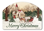 Religious Christmas Yard DeSigns Magnetic Art