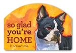 Boston Terrier Yard DeSigns
