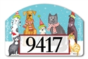 Pet Holiday Yard DeSigns Magnetic Art