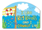 Big Boats Yard DeSigns Magnetic Art