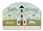 Easter Service Yard DeSigns Magnetic Art