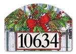 Holiday Garland Yard DeSigns Magnetic Art