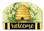 Bee Skep Yard DeSigns Magnetic Art