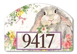 Hello Bunny Yard DeSigns Magnetic Art