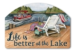 Lake Weekend Yard DeSigns Magnetic Art