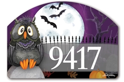 Moonlight Owl Yard DeSigns Magnetic Art