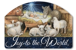 Joy to the World Yard DeSigns Magnetic Art