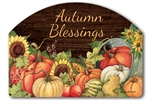 Autumn Scarecrow Yard DeSigns Magnetic Art