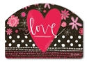 Valentine Love Yard DeSigns Magnetic Art