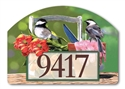 Chickadee Rest Stop Yard DeSigns Magnetic Art