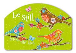Be Still Birds Yard DeSigns Magnetic Yard Art