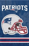 New England Patriots Football Flag