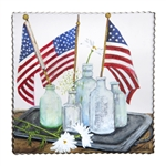 RTC Gallery Bottled Flags Art