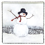 Gallery Snowman with Scarf Art