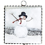 Gallery Snowman with Scarf - Mini