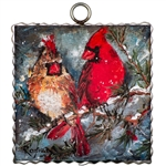 Gallery Cardinal Pair Art