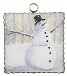 RTC Gallery Wintry Fun Snowman Art