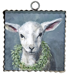 Gallery Lamb With Wreath