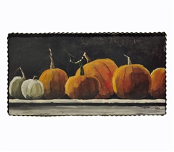 Gallery Mantel Pumpkins Art