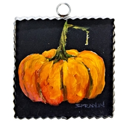 Gallery Mini Orange Pumpkin Art