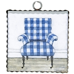 Gallery Gingham Chair