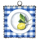 Gallery Lemon on Gingham