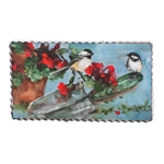 Gallery Chickadees and Geraniums
