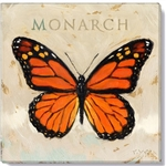 "Darren Gygi Monarch Butterfly (9"" x 9"")"