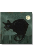 "Darren Gygi ""Black Cat"" Halloween Canvas Print (5"" x 5"")"