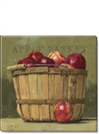 "Darren Gygi Apple Basket Art (5"" x 5"")"