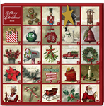 "Darren Gygi Christmas Advent Calendar (14"" x 14"")"
