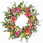 Mix Flower Berry Wreath