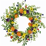 Wildflowers Wreath
