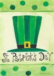 St. Pat's Hat House Flag