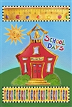 School House Decorative Garden Flag