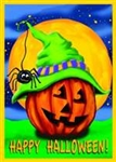 Halloween Hitcher Garden Flag