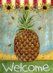 Sunflowers & Pineapple Garden Flag