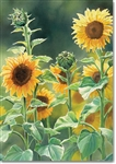 Sunflower Field Garden Flag