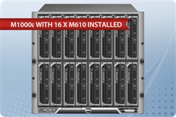 Dell M1000e with 16 x M610 Blades Advanced SATA from Aventis Systems, Inc.