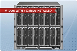 Dell M1000e with 4 x M820 Blades Advanced SATA from Aventis Systems, Inc.