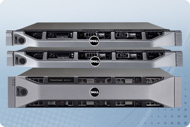 Dell PowerEdge R610 Servers and MD3200 Storage Virtualization Cluster Basic