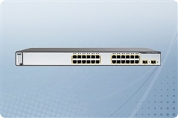 Cisco Catalyst WS-C3750-24TS-E Managed Switch 24 Ports from Aventis Systems, Inc.
