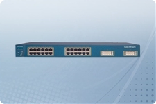 Cisco Catalyst WS-C3550-24-DC SMI Switch 24 Ports from Aventis Systems, Inc.