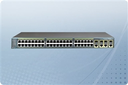 Cisco Catalyst WS-C2960G-48TC-L Managed Switch 48 Ports from Aventis Systems, Inc.