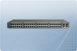 Cisco Catalyst WS-C2960-48PST-L Managed Switch 48 Ports from Aventis Systems, Inc.