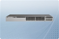 Cisco Catalyst WS-C3750X-24P-S Managed Switch 24 Ports from Aventis Systems, Inc.