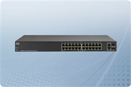 Cisco SF220-24P 24-Port 10/100 PoE Smart Plus Switch from Aventis Systems, Inc.