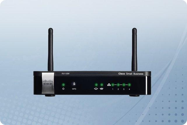 Cisco RV110W Wireless-N VPN Firewall Appliance Wi-Fi IEEE 802.11n 5 Port