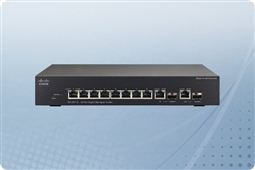 Cisco SG300-10PP 10-port Gigabit PoE+ Managed Switch from Aventis Systems, Inc.